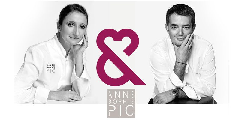 Anne-Sophie Pic / Jean-François Piège pour les Restos du Cœur