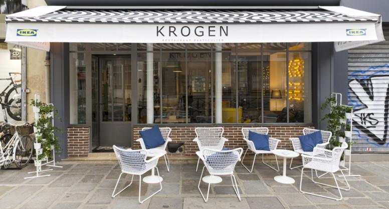 Restaurant éphémère Ikea Krogen Paris