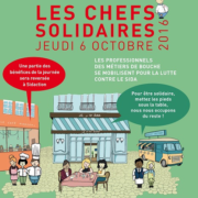 Sidaction : les chefs solidaires