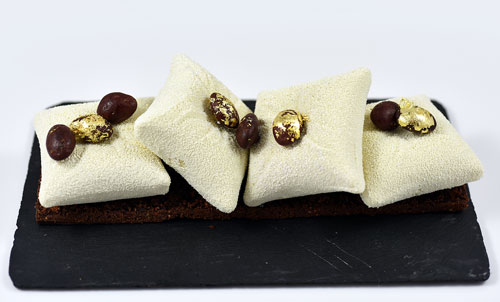 Nicolas Bacheyre Noel 2016 Buche chocolat noir