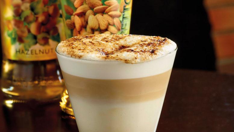 Latte Macchiato Praline Védrenne façon crème brulée