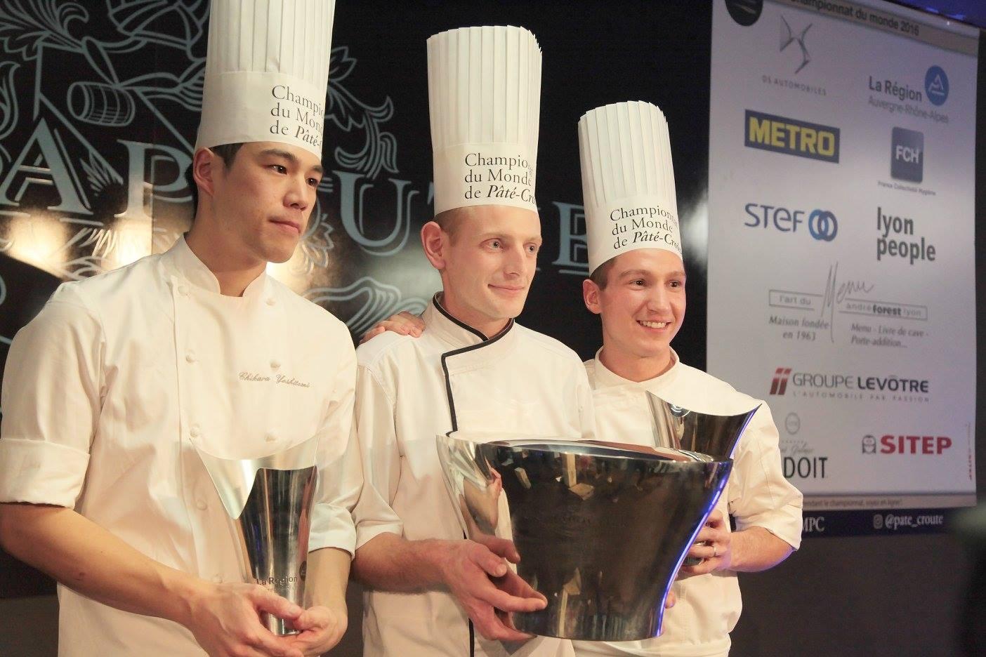 Jérémy DELORE – La Ferme du Poulet Villefranche-sur-Saône (69), est le huitième vainqueur du championnat du monde de pâté croûte_© Cloporte