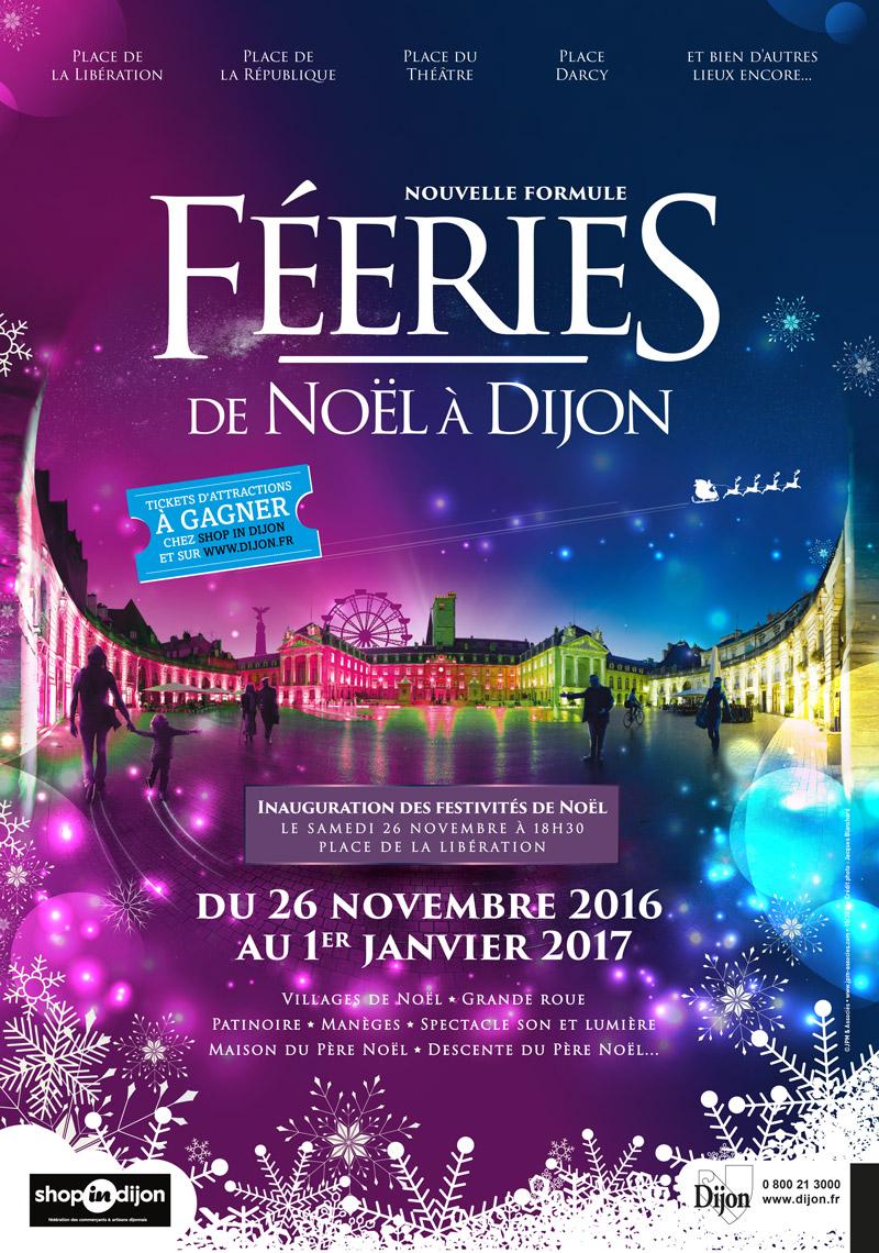Féerie de Noël Dijon