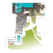 plan rez de jardin - Villa Loiseau des Sens
