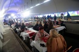 Biennale Intarnationale du Gout, Lyon 2017. Le tunnel du gout le