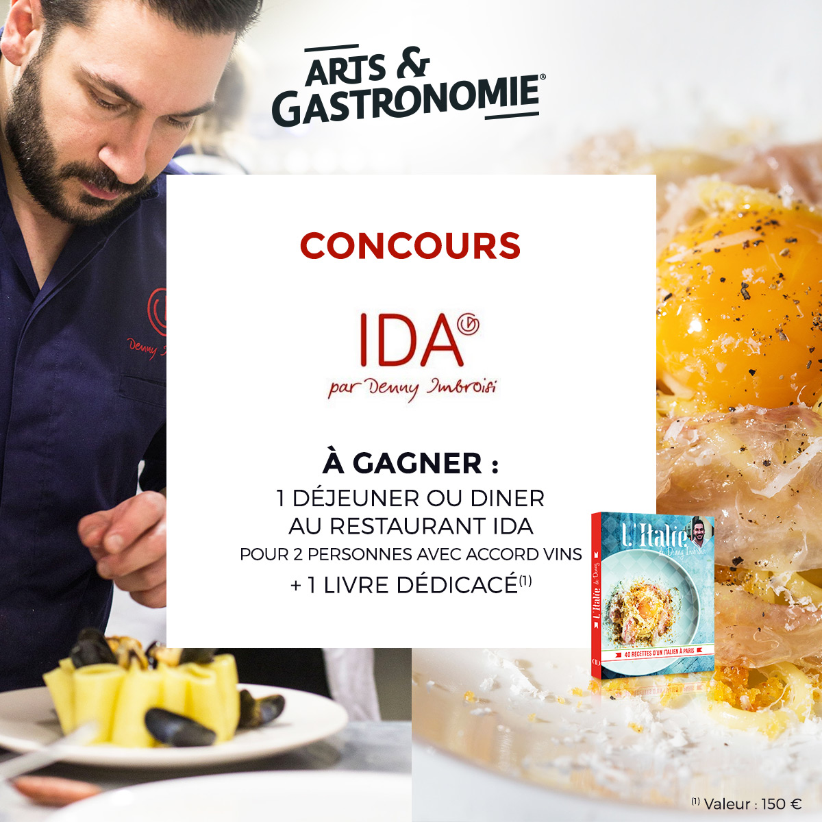 Denny Imbroisi restaurant IDA concours