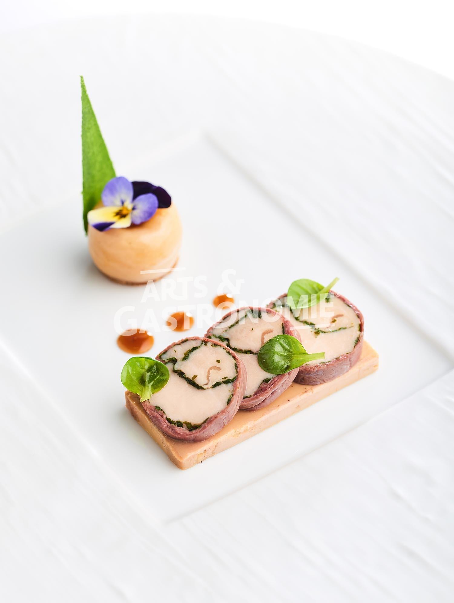 Supr me de pintade fermi re arts gastronomie for Site de cuisine gastronomique