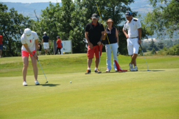 3ème pro am de golf, valence ville de gastronomie. Tournois qui se déroule le 12 et 13 juillet 2017 au Golf des Chanalets. Drôme.