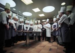 Christophe Muller, chef de cuisine de l'auberge du Pont de Collonges, Paul Bocuse a Collonges au Mont d'or dans le rhône