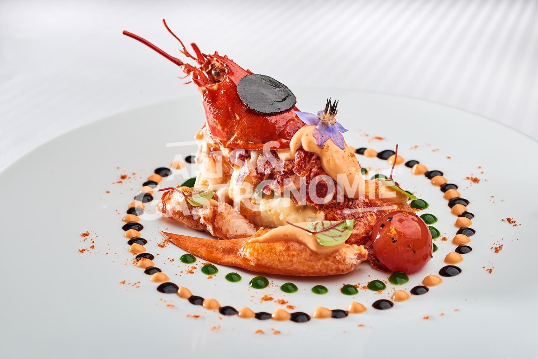 Salade de homard la fran aise arts gastronomie - Recette de cuisine gastronomique de grand chef ...