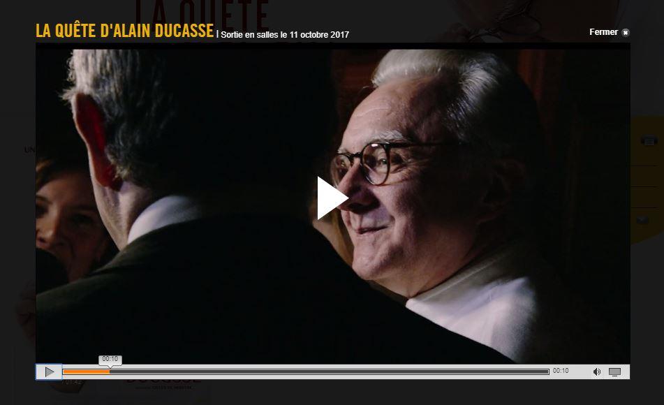 Bande Annonce Film Alain Ducasse