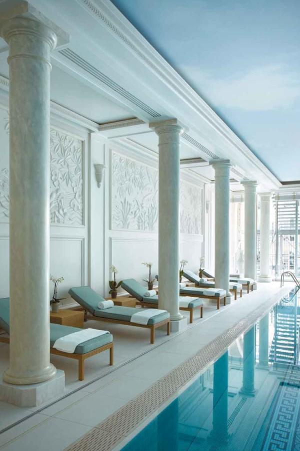 La piscine du Shangri-La