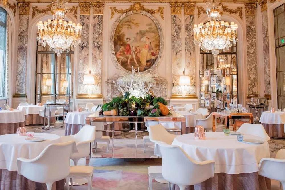 Le restaurant le Meurice Alain Ducasse