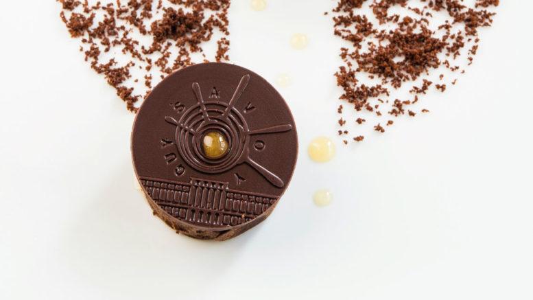 Le chocolat miel Monnaie de Paris [Laurence Mouton]