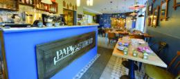 Restaurant Papy aux Fouurneaux, nouveau lieu de convivialité, table d'hôtes, playground et épicerie. Dans le 14ème arrondissement de paris, Julien Meunier et Pierre Durand, fondateur d'Artichef.