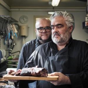 Claude et Julien Barbet des Restaurants Les frères Barbet et le café de la gare à Brignais, 2 institutions proche de lyon pour manger une savoureuse cuisine familiale