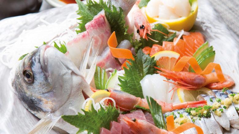 Plateau de sashimi & dorade entière