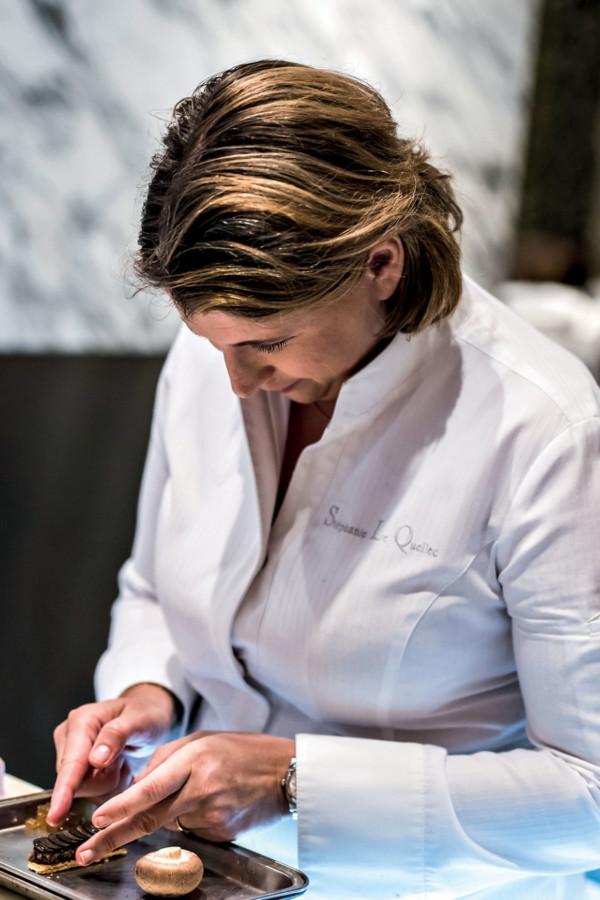 Stéphanie Le Quellec en cuisine