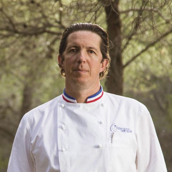 Christophe Bacquié Le Castellet restaurant
