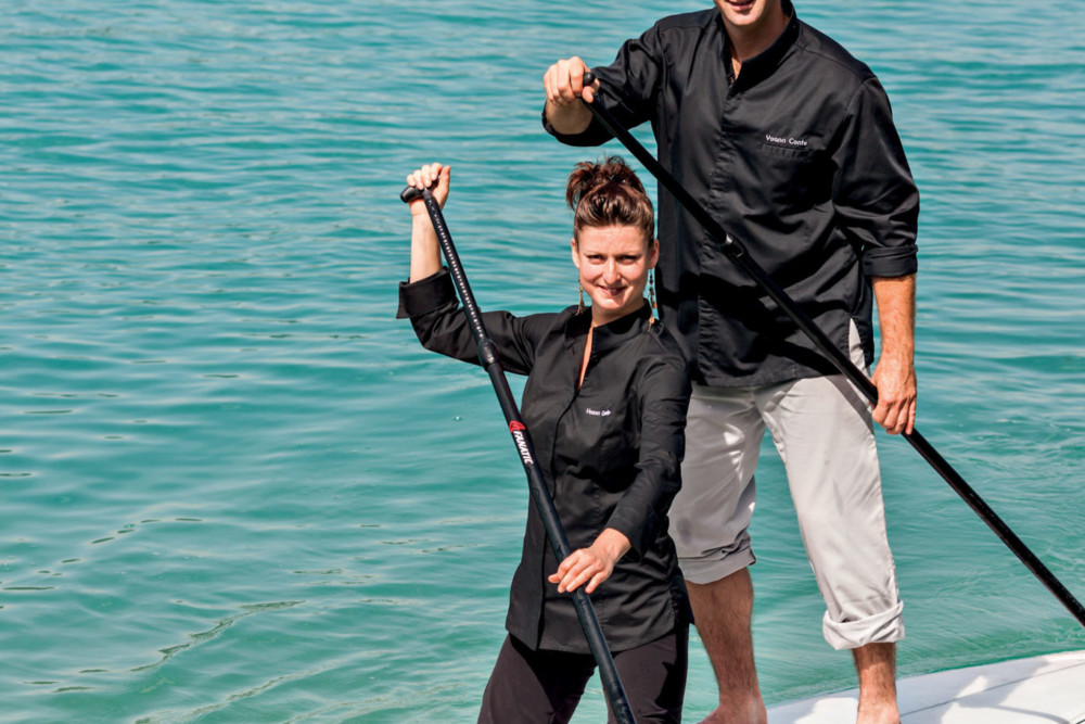 Elodie et Yoann Conte