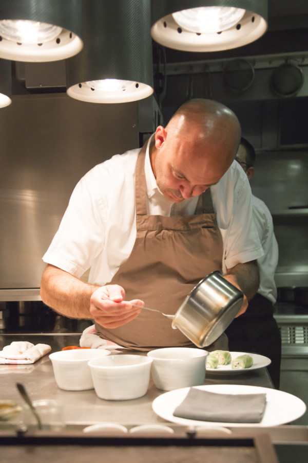Alexandre Bourdas en cuisine