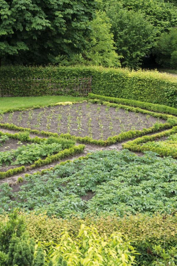 Le potager de la Reine à Versailles