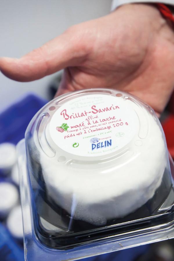 Brillat Savarin de la fromagerie Delin