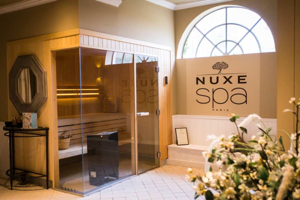 Le spa Nuxe du Château de Courban