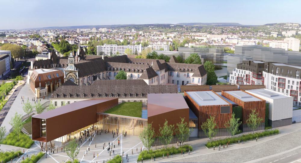 Future cité internationale de la gastronomie et du vin de Dijon