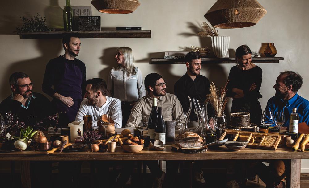 L'équipe et les producteurs  ©Christophe Fouquin