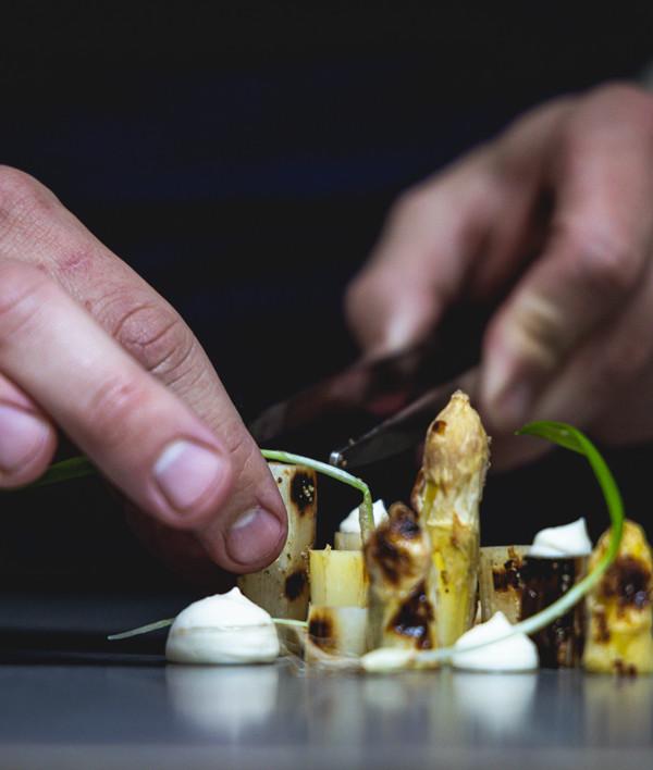 La cuisine du d'Angelo Ferrigno ©Christophe Fouquin