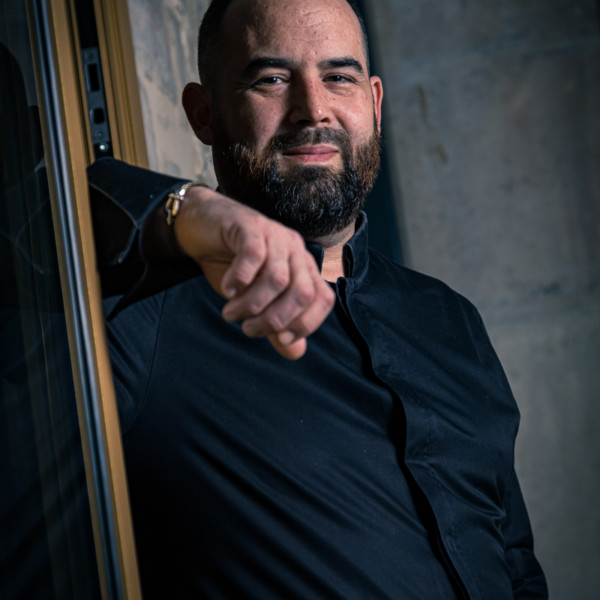 Portrait Damien Ravion