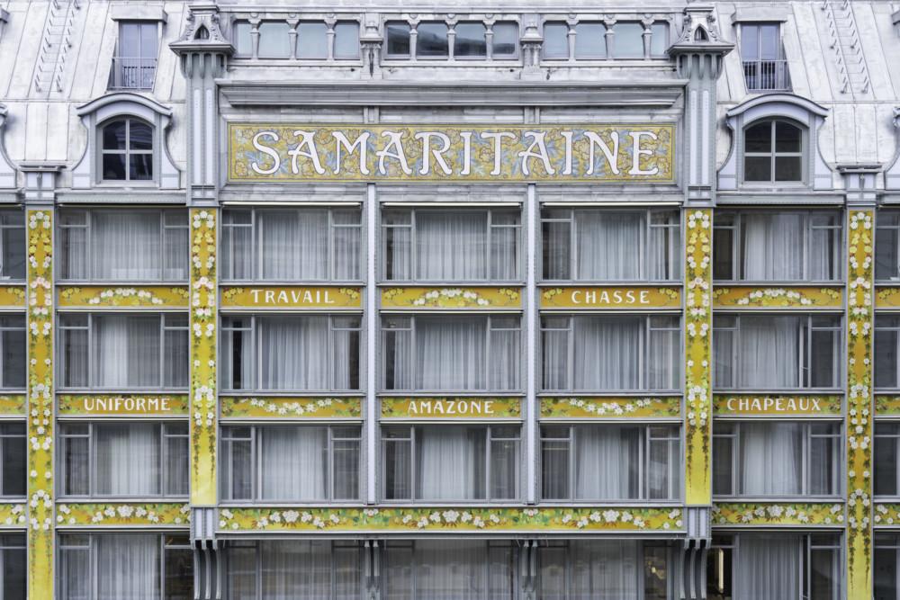 façade samaritaine